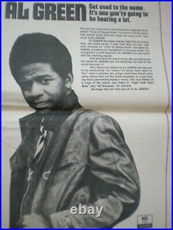Rolling Stone Magazine #96 Nov 25 1971 Fear & Loathing in Las Vegas Steadman