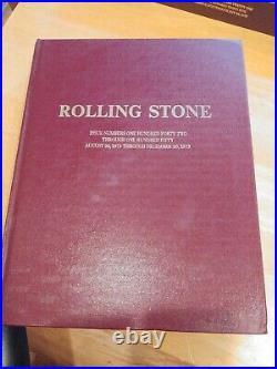 Rolling Stone Magazine Bound Edition 142 through 150 8-30-73- 12-20-73