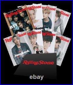 Rolling Stone Magazine Box Set Mag BTS V J-Hope Jimin Jungkook RM Jin Suga New