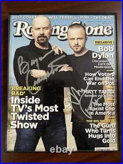 Rolling Stone Magazine Breaking Cover Bad SIGNED BY BRYAN CRANSTON & AARON PAUL