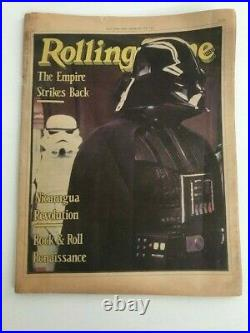Rolling Stone Magazine Star Wars The Empire Strikes Back Australian Edition 1980
