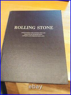 Rolling Stone leather bound Issue Numbers 150 Through 160 1-8-74 Through 5-9-74