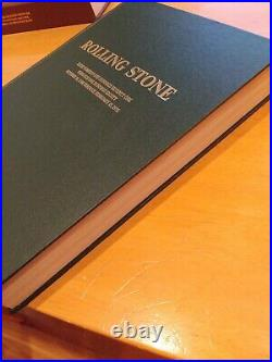Rolling Stone leather bound Issue Numbers 171 Through 180 10-10-74 Through