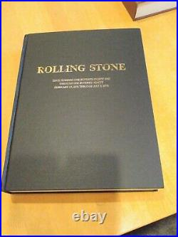 Rolling Stone leather bound Issue Numbers 181 Through 190 2-27-75 Through