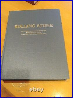 Rolling Stone leather bound Issue Numbers 199 Through 200 7-17-75 Through