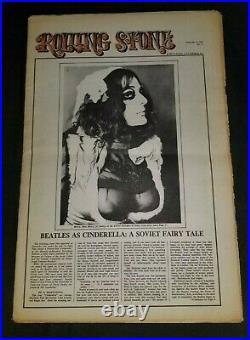 Rolling Stone magazine #27 February 15 1969 Zappa's GTO's Plaster Casters VG