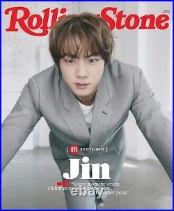Rolling stone magazine BTS Cover Bundle (jimin, Jin, Rm, Suga, V)