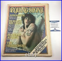 Steven Tyler Aerosmith Rolling Stone Magazine Signed Autographed Beckett COA