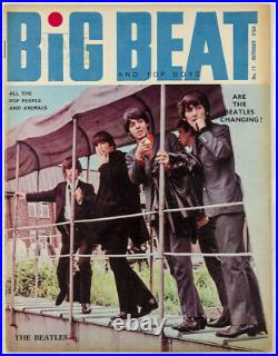 THE BEATLES Rolling Stones PRETTY THINGS Dusty Springfield BIG BEAT magazine 11