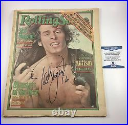 Ted Nugent Rolling Stone Magazine Signed Autographed Beckett COA