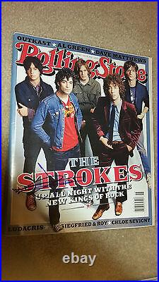 The Strokes Julian Casablancas Rolling Stone Magazine Mag Signed Autograph #a