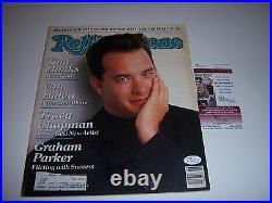 Tom Hanks Actor, Forrest Gump, Big Jsa/coa Signed Rolling Stone Magazine