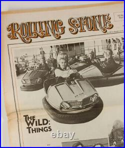 VERY RARE UK edition of ROLLING STONE magazine THE WILD THINGS August 1969