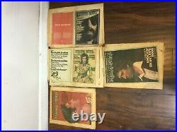 Vintage magazine Rolling Stone set of 16 1971 1972 1973 1974 years